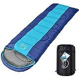 LATTCURE Outdoor Schlafsack Deckenschlafsack für Camping im Winter, -9 bis 10°C, Weich, Dick und Warm Schlafsack