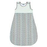 Baby Schlafsack, 100% Biobaumwolle von Sweety Fox - Unisex Schlafsäcke Baby - Hochwertiger Reißverschluss mit Schutz - Garantiert Chemiefrei (OEKO TEX) - Französisches Design