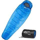 Active EraTM Professional 300 Mumienschlafsack - Premium Schlafsack für Outdoor Camping, 3-4 Jahreszeiten