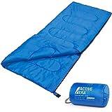 Active EraTM Premium Deckenschlafsack - Leichter Schlafsack für Indoor und Outdoor Camping im Sommer - Ideal für Kinder und Erwachsene